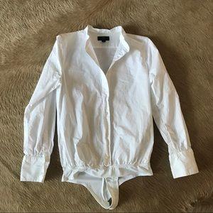 J. Crew Bodysuit - White - size 4